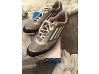 Adizero golf shoes size 8