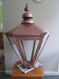 Vintage Style Copper Lantern