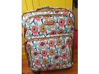 Lily Bloom lightweight 4 wheel suitcase