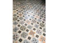 Floor tiles, Worlds Park Hyde