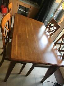Dining table set - 6 chairs