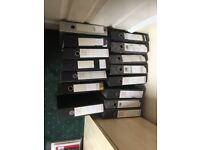 Used Lever Arch Files - £0.75 each - foolscap ring binder for storing A4 documents - Good condition