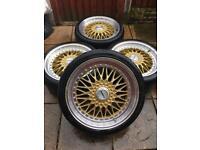 "5x108 5x110 19"" Calibre BBS rep alloy wheels Ford ST VXR Vauxhall Jag Volvo C30"