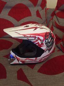 Kids Motorcycle Viper Helmet