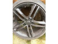 Audi vw seat alloy wheels rims / rs5 / rs4 / rotor / 5x112