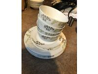 Plates and Bowls Set