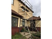 Double Width Scaffold Boss/eiger tower 6.2m working height