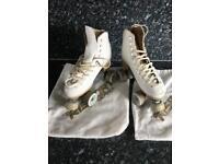 Risport professional roller skates.