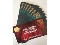 £150 of Theatre Tokens