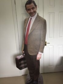 Full size cardboard cut out of Mr Bean