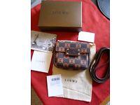 Genuine Loewe shoulder / makeup bag BNWT and all original packaging
