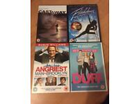 Selection of various dvds