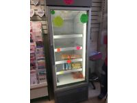 Upright display shop freezer good condition.