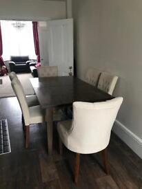 Laura Ashley extending dining table garrat