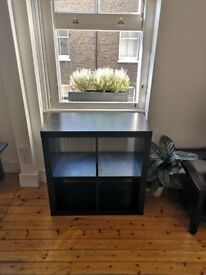 Ikea storage unit in black
