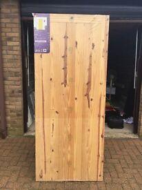 New in packaging Wooden door - 78in x 33 in.