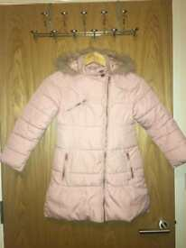 Girls coat from Next age 7-8