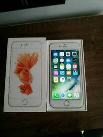 Iphone 6s 16gb on Vodafone Rose Gold