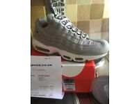 Nike air max 95 adult 8.5.i bought these a couple of weeks ago but they are to to big.i have receipt