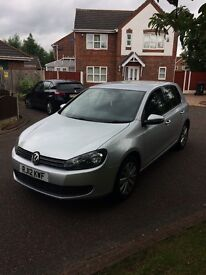 2012 Volkswagen Golf 1.6 tdi match LOW MILES/IMMACULATE!
