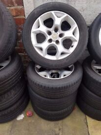 Vauxhall Astra 16'' Snowflake SILVER Alloys Can Sell Singles Can Post Part exchange welcome