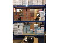 Industrial Racking Storage Garage Shelving Blue Heavy Duty 182.88cm Height&Wide .