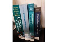 Chemistry Degree Starter Set Of Unused Books