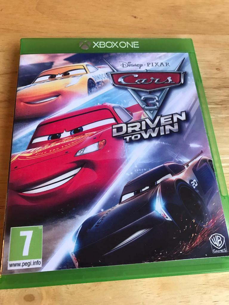 cars 3 driven to win for xbox one in leicester leicestershire gumtree. Black Bedroom Furniture Sets. Home Design Ideas