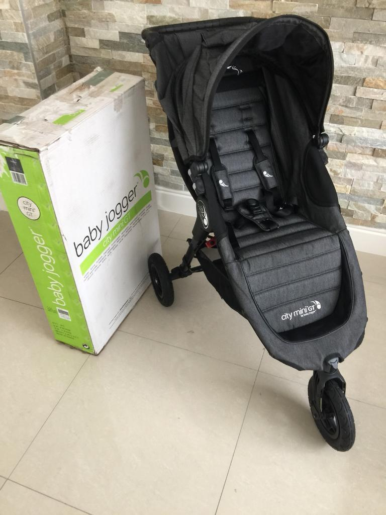 City Mini Gt Baby Jogger Buggy Pushchair Charcoal Only