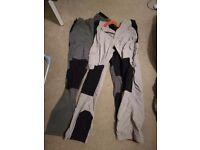 Bear grylls men's trousers size long 34 inch