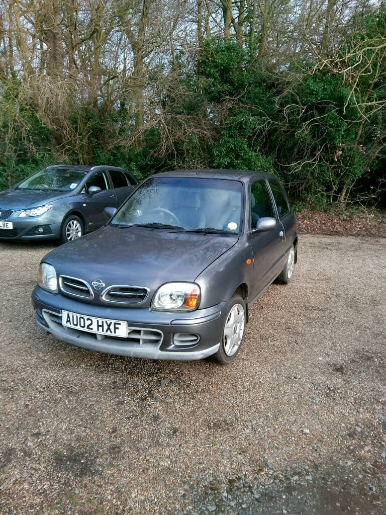 Nissan Micra with 1.6 engine conversion. Track day car for swaps ...