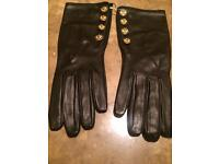 Chanel Black Russian Gloves