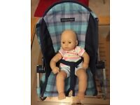 Children's Role Play - High chair and baby seat