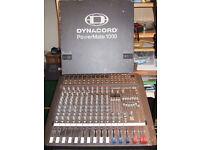 Powermate 1000 mixing amp and 2 EV stage 200 speakers