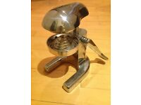 Awesome vintage chrome lemon press