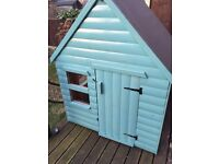 Timber/Wooden Playhouses For Sale 900mm Deep x 1200mm Wide Made From Decorative Log