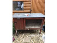 Free to collector hutch and run.