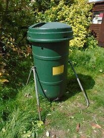 Compost Maker Leaf Composter Bin Garden Mulch