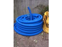 Drainage pipe for land