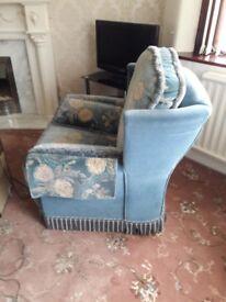 Bridgecraft sofa and armchairs