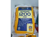 Self leveling compound 2 bag and latex liquid
