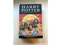 Harry Potter and the Deathly Hallows 1st Edition Hardback