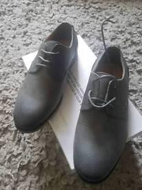 Boys grey shoes size 2