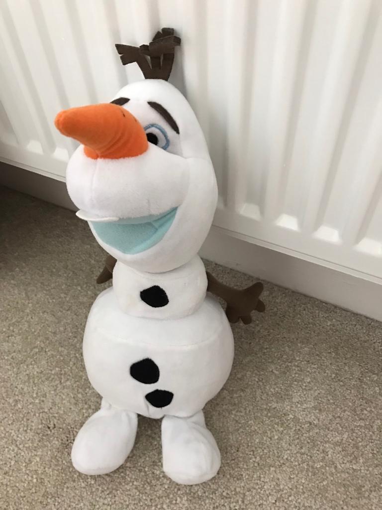 Taking Olaf (Frozen)