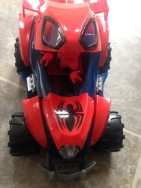 Spider-Man quad with lights & sounds