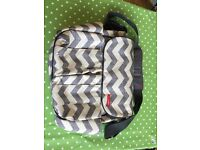 Skip hop baby changing bag - new