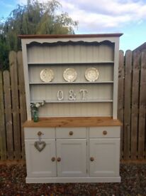Solid pine country Farmhouse kitchen Welsh dresser