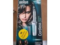 Cordless ceramic hair styler - new