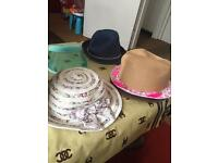 Summer hats each £2