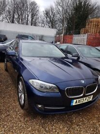 BMW 520D LOW MILLEAGE, 2 OWNER BLUE CREAM LEATHER